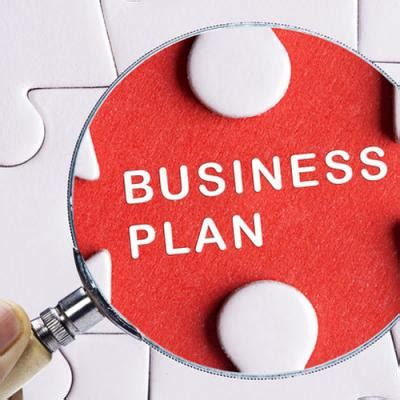 And small business plan